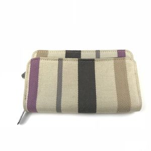 Thirty One Bags - Thirty One Zip Around Wallet Organizer Stripe